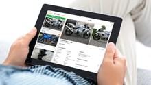 Finden Sie Ihr neues Motorrad auch via Mobile!