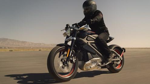Harley passe à l'électrique