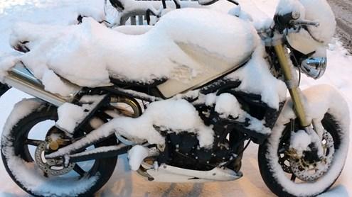 Motorrad im Winter – darauf sollten Sie achten