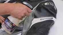So pflegen Sie Ihre Textil- und Leder-Motorradbekleidung